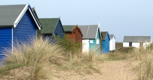 Beach Huts, Hunstanton, Ruth's Coastal Walk