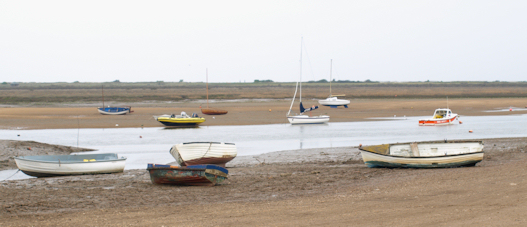 Boats at Brancaster, Ruth's coastal walk, North Norfolk coast