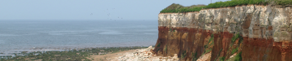 Hunstanton cliff, Ruth's coastal walk