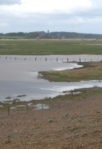 View over Salthouse Marshes, Ruth's Coastal Walk
