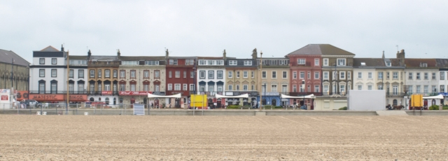 Great Yarmouth sea front - Ruth walks the UK coast