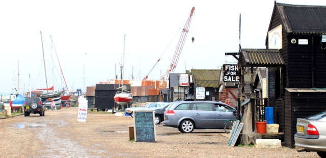 Southwold harbour - Ruth's coastal walk