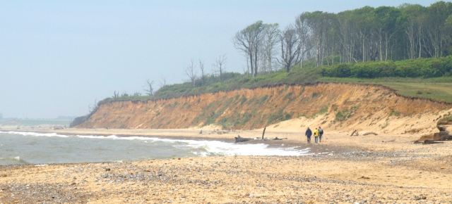 Beach at Benacre - Ruth's coastal walk, Suffolk