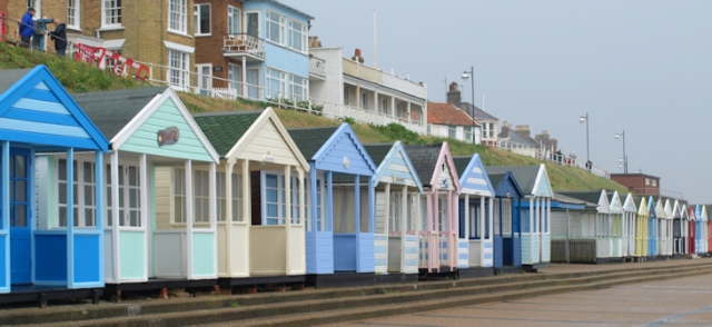 Southwold promenade and beach huts - Ruth's coastal walk