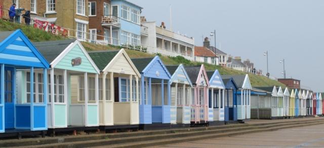 Southwold promenade and beach huts - Ruth's coastal walk