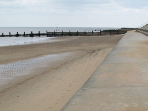 Cable Gap, Ruth's coastal walk, UK
