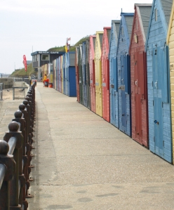 Beach Huts, Mundesley, Norfolk Coast - Ruth's coastal walk