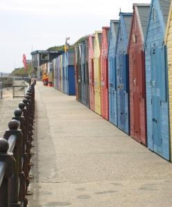 Beach Huts, Mundesley, Norfolk Coast - Ruth's coastal walk