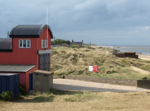 Independent lifeboat station, Scroby Sands, Caistor on Sea - Ruth's Coastal walk