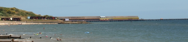 Walton's ugly Pier - 3rd longest in the UK - Ruth's coastal walk