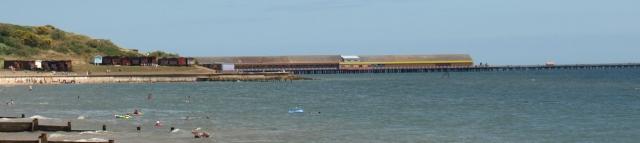 Walton's ugly Pier - 3rd longest in the UK - Ruth's coastal walk
