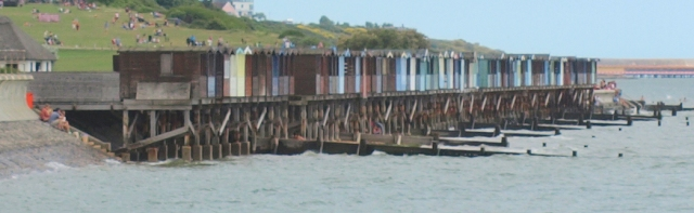 Amazing beach huts at Frinton-on-Sea, Ruth's coastal walk