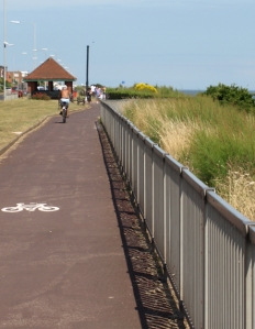 Holland-on-Sea, cycle way - Ruth's coastal walk