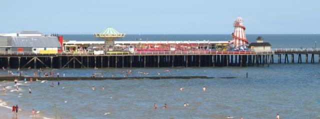 Clacton Pier, Ruths coastal walk