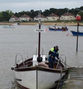 Felixtowe Ferry, Ruth's coastal walk
