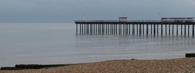 Felixstowe Pier, Ruth's coastal walk