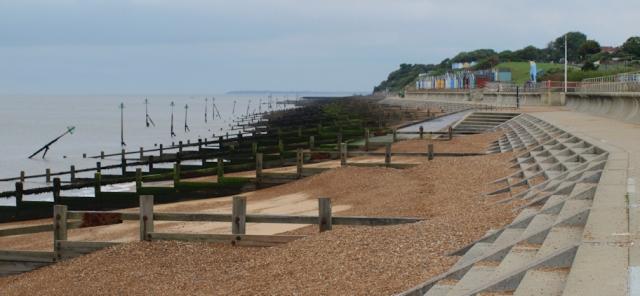 Felixstowe Promenade - Ruth's coastal walk UK