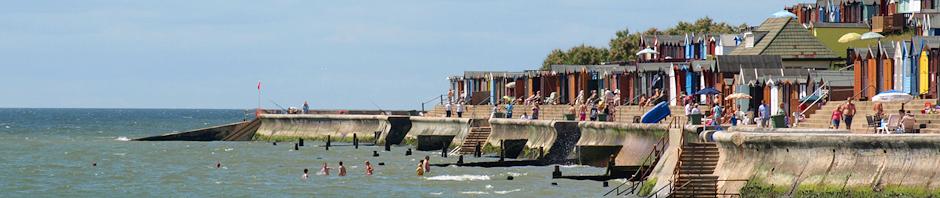 Sea Front at Walton-on-the-Naze, Ruth's coastal walk