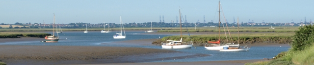 Hamford Water - Ruths coastal walk, Essex