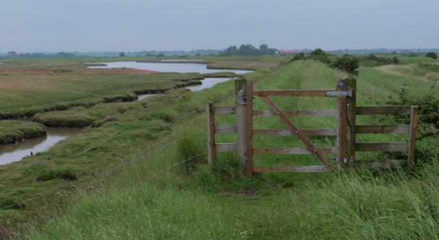 Oxley Marshes - Suffolk Coastal Path - Ruth's Coastal Walk