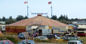 Circus at Jaywick - Ruths coastal walk