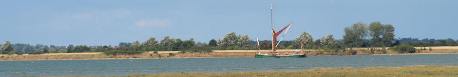 Oyster smack on River Blackwater, Near Maldon - Ruth's coastal walk