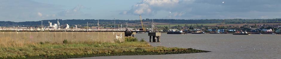 Mucking Flats, Essex. Ruth's coastal walk.