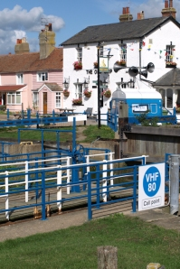 Heybridge Basin, Lock. Near Maldon Essex. Ruth's coastal walk