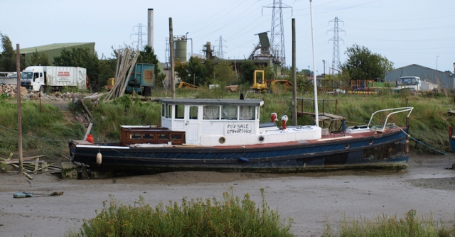 Boat for sale, Rochford. Ruth's coastal walk
