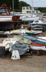 Paglesham Marina, River Roach, Essex, Ruths coastal walk