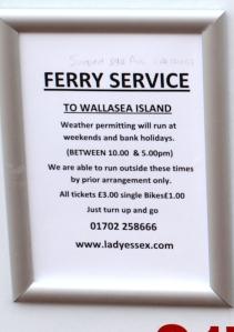 Burnham Ferry, Ruth's coastal walk