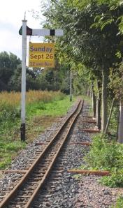 Minature Railway Line, Essex, Ruths coast walk