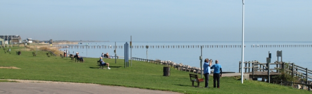Shoeburyness beach, Essex, Ruth's walk round the coast
