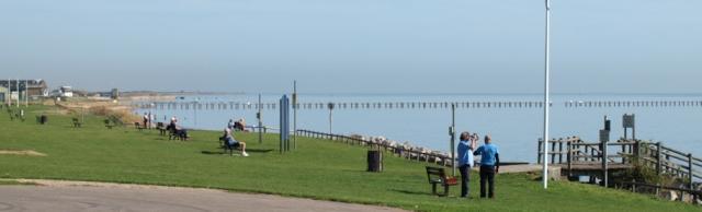 Shoeburyness beach, Essex, Ruth's walk round the coast