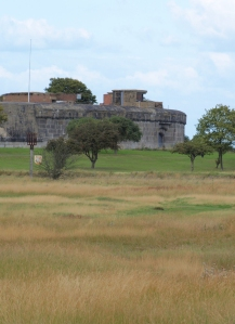 Coalhouse Fort, Thames, Ruths coastal walk