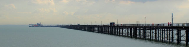 Southend Pier, Ruth's coastal walk. Essex.