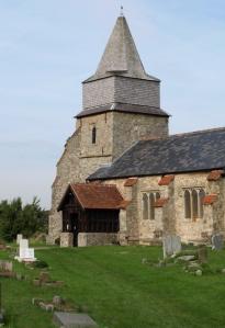 St Margaret's Church, Bowers Gifford, Essex, Ruth's coastal walk