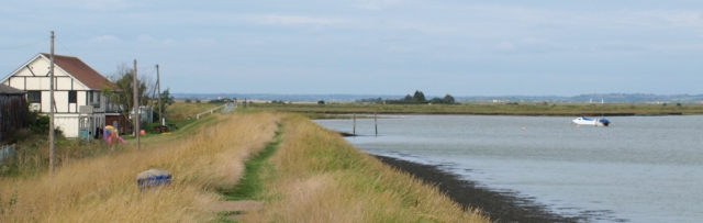 Wallasea Island, Essex. Ruth's coastal walk