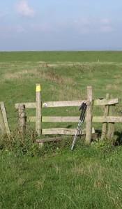 Style to Halstow Marshes, Hoo Peninsula, Kent. Ruth's coastal walk.