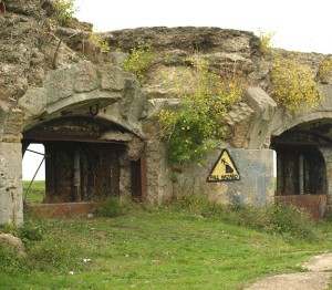 Old Battery, Hoo Peninsula, Kent, Ruth's coastal walk