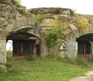 Old Battery, Hoo Peninsula, Kent, Ruth's coastal walk