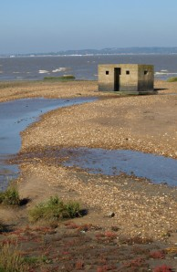Pill Box, Allhallows-on-Sea, Kent coast - Ruth's coastal walk