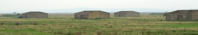 Buildings in Cliffe Marshes, Ruth's coastal walk