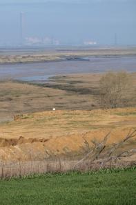 Spot the footpath, Kent, Saxon Way, Ruth's coastal walk.