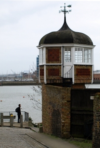 Interesting buildings, Upper Upnor, Ruth's coastal walk in Kent.