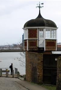 Interesting buildings, Upper Upnor, Ruth's coastal walk in Kent.