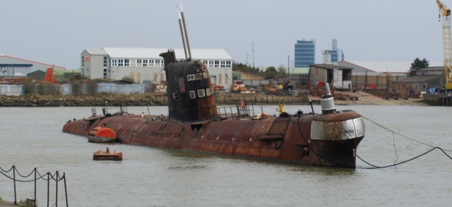 Russian submarine, Rochester, Ruth's coastal walk.