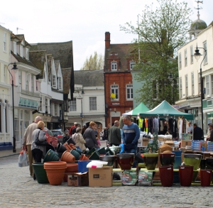 Faversham Market, Ruth's coastal walk, Kent.