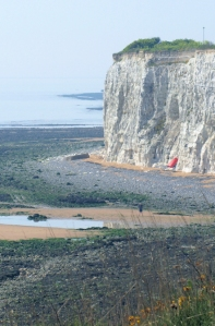 North Foreland from Joss Bay, Kent. Ruths coastal walk.