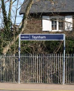 Teynham Railway Station, Ruths coastal walk, Kent